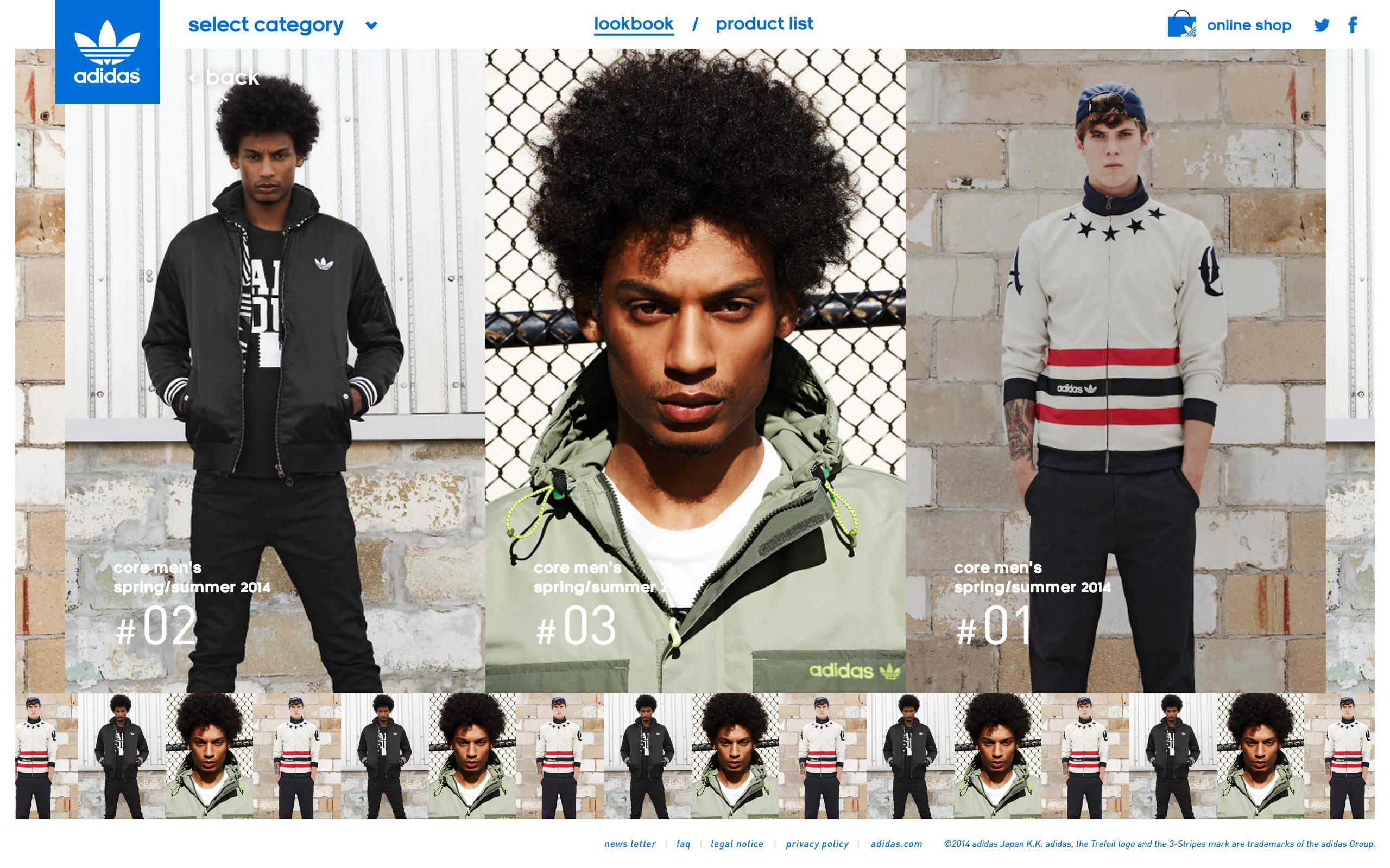 Adidas Originals 2014ss Lookbook T D Inc